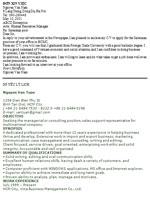 Một số mẫu đơn xin việc và sơ yếu lý lịch tiếng Anh