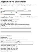 Hiển thị chi tiết Mẫu đơn xin việc ngắn hạn bằng tiếng Anh