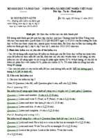Công văn 8225/2012/BGDĐT-GDTH kiểm tra đánh giá môn tiếng anh lớp 3, lớp 4, lớp 5 học kỳ i năm học 2012-2013