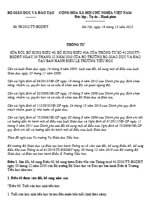 Thông tư 50/2012/TT-BGDĐT sửa đổi điều lệ trường tiểu học
