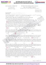 Đáp án đề thi ĐH môn Vật Lý khối A kỳ thi đại học năm 2012