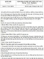 Luật quy định về phòng, chống tham nhũng sửa đổi 2012
