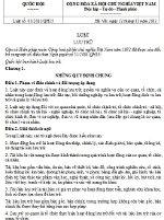 Luật lưu trữ số 01/2011/QH13
