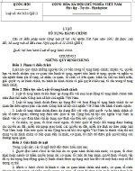 Luật tố tụng hành chính số 64/2010/QH12
