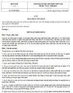 Luật khám bệnh, chữa bệnh số 40/2009/QH12