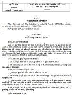 Luật thi hành án hình sự số 53/2010/QH12