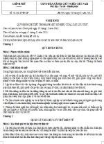 Nghị định 01/2013/NĐ-CP quy định chi tiết thi hành một số điều của Luật lưu trữ