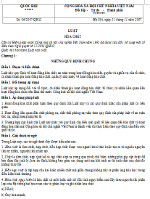 Luật Hóa chất số 06/2007/QH12