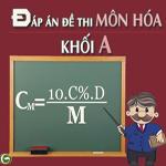 Đề thi đại học môn Hóa khối A năm 2011 đề thi đại học môn hóa có đáp án