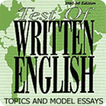185 TOEFL Writing (TWE) Topics and Model Essays sách học tiếng anh