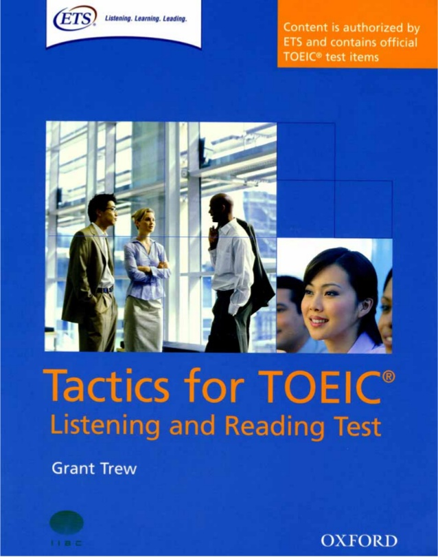 Tactics for TOEIC Listening and Reading Tests
