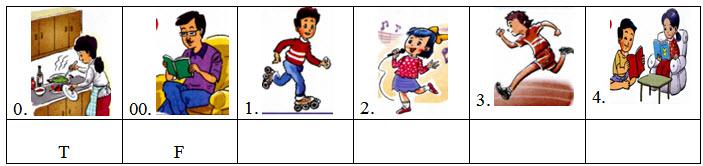 Đề kiểm tra cuối 5 môn Tiếng Anh lớp 3