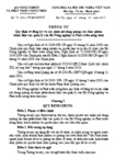 Thông tư số 75/2011/TT-BNNPTNT quy định về đăng ký và xác nhận nội dung quảng cáo thực phẩm