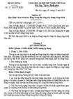 Thông tư số 22/2010/TT-BXD