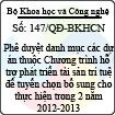 Quyết định 147/QĐ-BKHCN