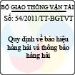 Thông tư số 54/2011/TT-BGTVT