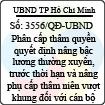 Quyết định 3556/QĐ-UBND