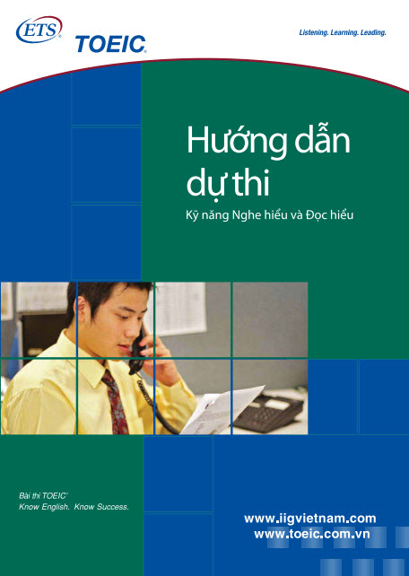 Hướng dẫn dự thi TOEIC Listening and Reading