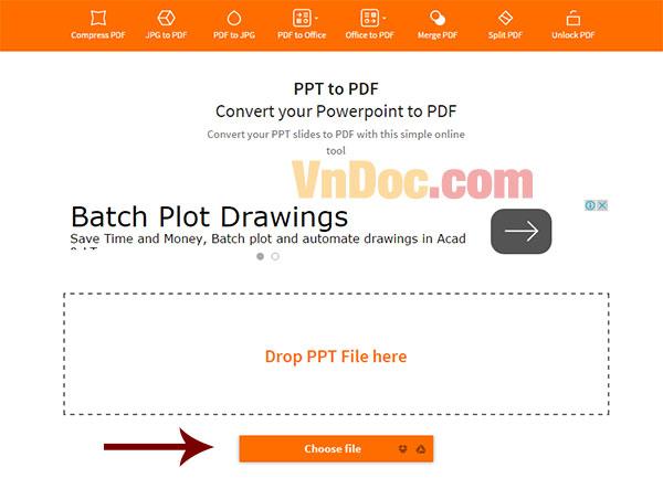Cách chuyển đổi từ Powerpoint sang PDF