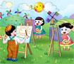 Dạy bé vẽ con vật vô cùng đơn giản qua 5 bước