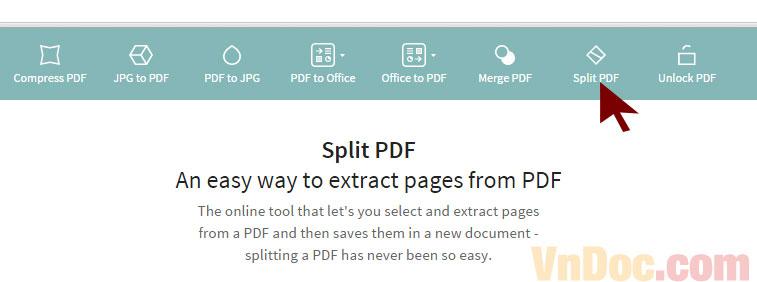 Hướng dẫn cách cắt file pdf online không lỗi font