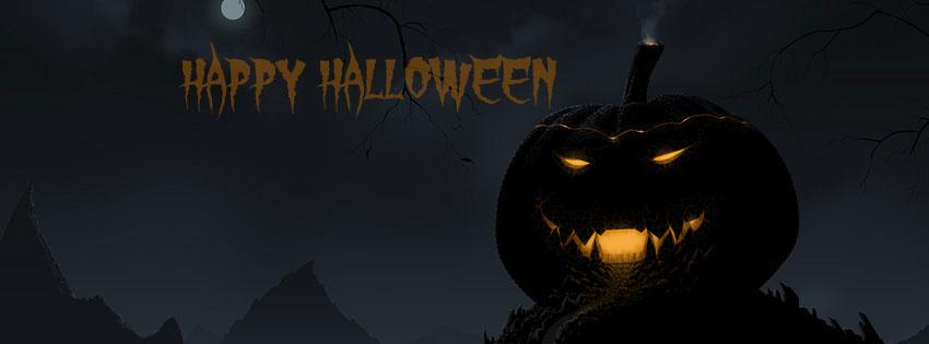 Ảnh bìa Halloween cho Facebook đẹp nhất