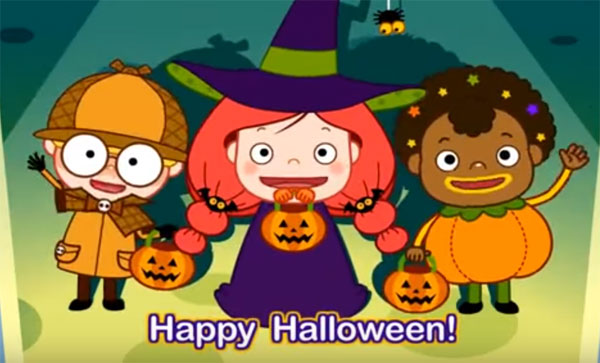 Video học tiếng Anh cho trẻ em: Knock Knock Trick or Treat
