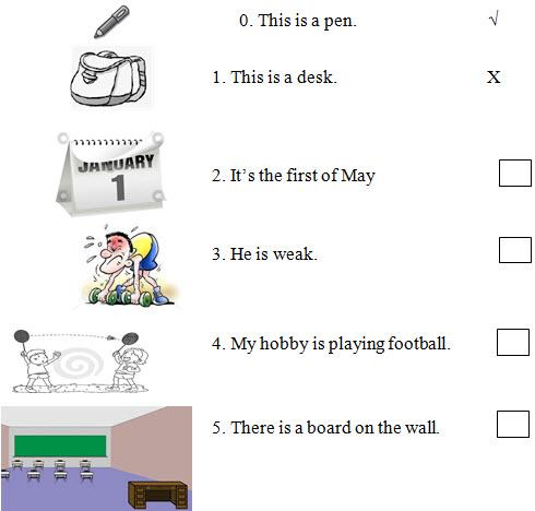 Đề kiểm tra học kì 1 môn Tiếng Anh lớp 4