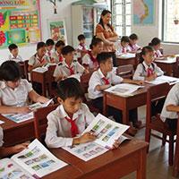Đề thi học kì 1 môn Tiếng Anh lớp 4 trường Tiểu học An Vinh 2