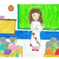 Bài văn mẫu lớp 8 số 2 đề 2: Hãy kể về một lần em mắc khuyết điểm khiến thầy cô giáo buồn