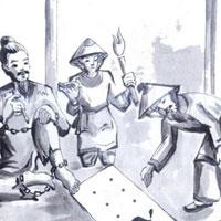 Phân tích cảnh cho chữ trong Chữ người tử tù của Nguyễn Tuân