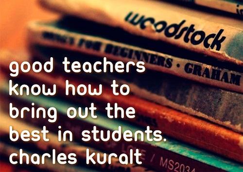 Những câu nói Tiếng Anh ý nghĩa về nghề giáo viên