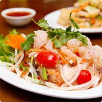 Cách làm salad miến tôm Thái ngon hết ý