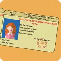 Lộ trình, thủ tục cấp đổi giấy phép lái xe bằng vật liệu PET