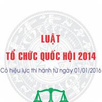 Luật tổ chức quốc hội số 57/2014/QH13