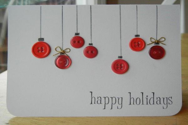 Thiệp Giáng sinh với những trái châu