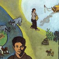 Chất dân gian được thể hiện trong bài thơ Tương Tư của Nguyễn Bính