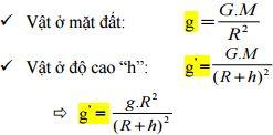 Công thức Vật lý lớp 10 đấy đủ
