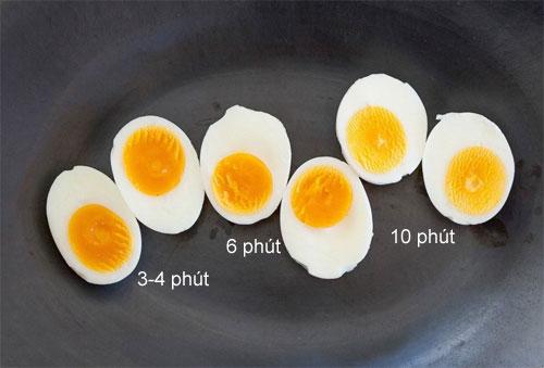 Mẹo luộc trứng lòng đào cực chuẩn