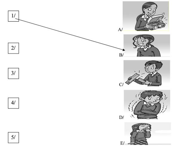 Đề kiểm tra học kỳ 2 môn Tiếng Anh lớp 4