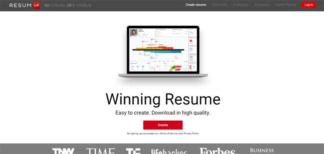 10 Phần mềm websites giúp bạn thiết kế CV ấn tượng