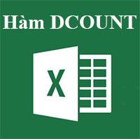 Học MS Excel 2013 bài 31: Hàm DCOUNT