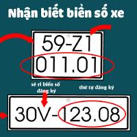Ký hiệu biển số xe ôtô, mô tô trong nước