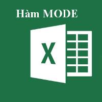 Học MS Excel 2013 bài 41: Hàm MODE
