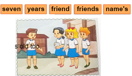 Bài tập Tiếng Anh lớp 3 Unit 7 Are THey Your Friends?