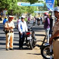 Quy định mới về quyền xử phạt của Cảnh sát giao thông