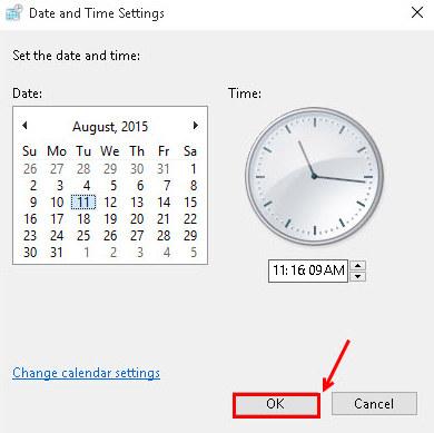 Cách thay đổi ngày giờ, múi giờ trên win 10