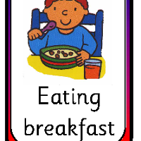 Flashcards for Kids: Daily Routines