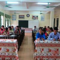 Lời dẫn chương trình Hội nghị Cán bộ công nhân viên chức