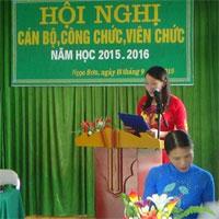 Bài diễn văn khai mạc hội nghị công nhân viên chức